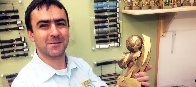 Edmond specialises in custom award engraving